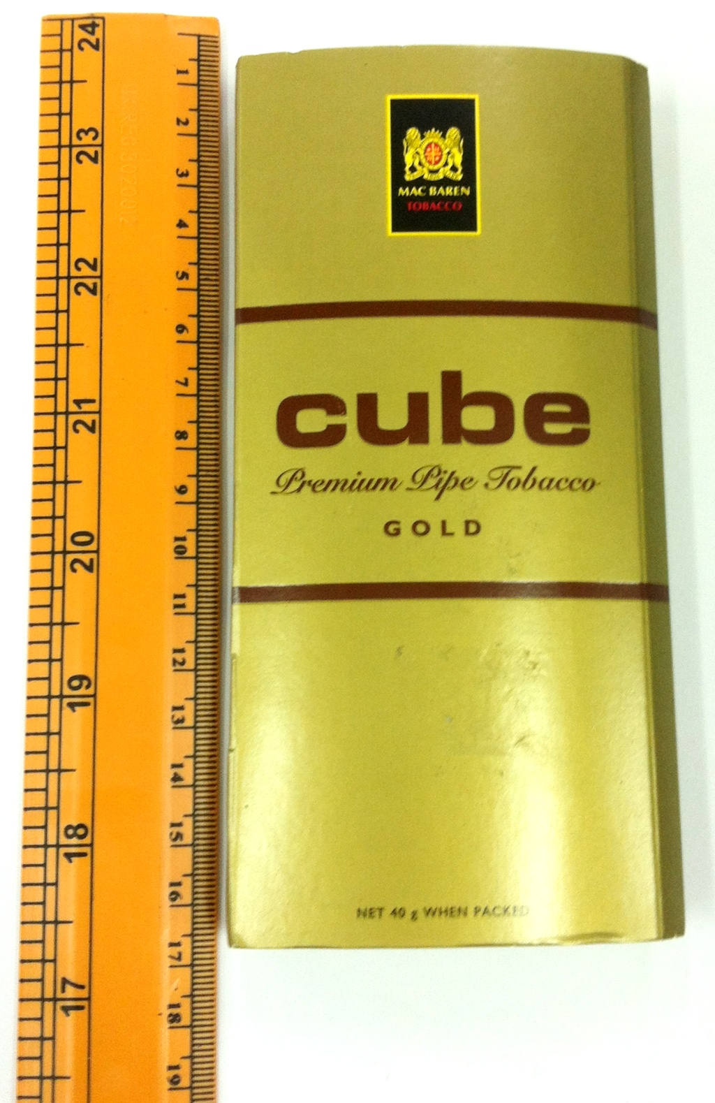 Mac Baren Cube Pipe Tobacco 40g Largest And Cheapest